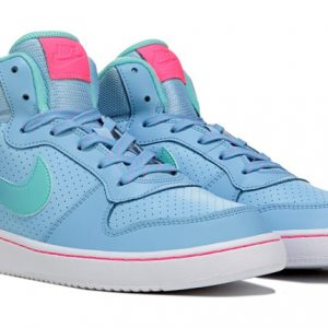 nike Kids' Court Borough Mid Top Sneaker Grade School